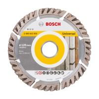 Disc diamantat, cu segmente, pentru debitare beton / piatra, Bosch Standard for Universal, 125 x 22.23 x 2 x 10 mm, 2608615059