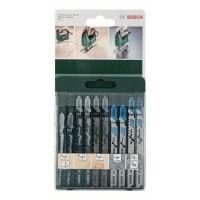 Panza fierastrau vertical, Bosch 2609256746, set 10 bucati