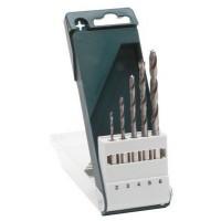 Burghie pentru lemn, Bosch Bosch 2609255326, 2 - 6 mm, set 5 bucati