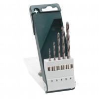 Burghie pentru lemn, Bosch 2609255326, 2 - 6 mm, set 5 bucati