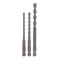 Set 3 burghie SDS-Quick, pentru beton, Bosch 2609256908, 5 - 8 mm