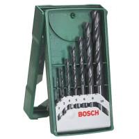 Burghiu pentru metal, Bosch X-Line 2607019673, 2 - 10 mm, set 7 bucati
