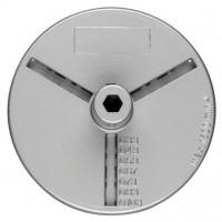 Flansa pentru carote, Bosch 2609255631, 33 - 103 mm