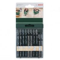 Panza fierastrau vertical, pentru lemn, Bosch 2609256744, set 10 bucati