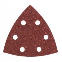 Hartie abraziva pentru slefuitor delta, pentru lemn, Bosch A48, 2609256062, 93 mm, granulatie 40, set 5 bucati