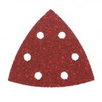 Hartie abraziva pentru slefuitor delta, pentru lemn, Bosch A53, 2609256067, 93 mm, granulatie 240, set 5 bucati
