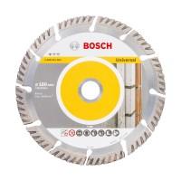 Disc diamantat, cu segmente, pentru debitare beton / piatra, Bosch Standard for Universal,  180 x 22.23 x 2.4 x 10 mm, 2608615063