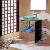 Mobilier sticla, 1022, 100 x 56 x 82 cm
