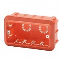 Doza aparat Gewiss GW24404, incastrata, modulara, 4 module, 144 x 85 x 50.5 mm