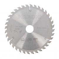 Disc circular, pentru lemn, Hikoki 752417, 165 x 30/20 mm