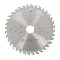 Disc circular, pentru lemn, Hitachi 752437, 190 x 30 mm
