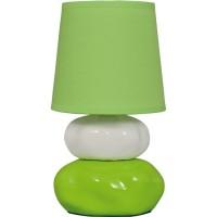 Veioza Omar KL 0500, 1 x E14, verde + alb