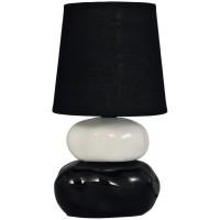 Veioza Omar KL 0503, 1 x E14, negru + alb