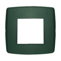 Rama Esperia 300554-31, 2 module, verde, pentru priza / intrerupator