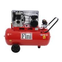 Compresor aer cu piston, cu ulei, Fini MK 102-100-3M, 2.2 Kw, 3 CP, 100 litri