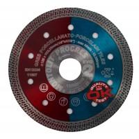 Disc  diamantat, continuu, pentru debitarea placi ceramice, Montolit CG125, 125 x 22.23 mm