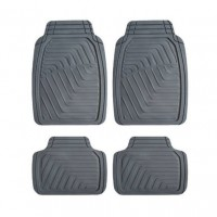Covorase auto Premium Line, PVC, 66 x 47 / 37 x 47 cm, set 4 bucati