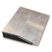 Dreptar aluminiu, pentru constructii, tip trapez, 2 m