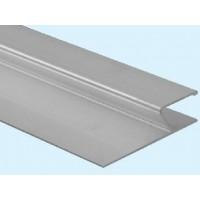 Dreptar aluminiu, pentru constructii, tip H, 2 m