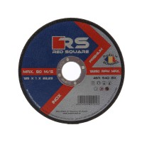 Disc debitare inox, Red Sqare, 125 x 22.2 x 1 mm