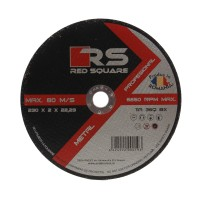 Disc debitare metal, Red Square, 230 x 22.2 x 2 mm