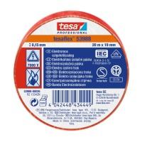 Banda electroizolatoare tesa Professional 53988, rosie, 20 m x 19 mm