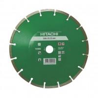 Disc diamantat, cu segmente, pentru debitare materiale de constructii, Hikoki 752805, 230 x 22.2 x 2.3 x 7 mm