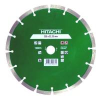 Disc diamantat, cu segmente, pentru debitare materiale de constructii, Hikoki 752815, 230 x 22.2 x 2.4 x 10 mm
