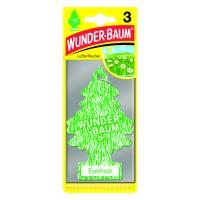 Odorizant auto, bradut, Wunder - Baum, Everfresh, pachet promo 2+1, 7.6 x 0.3 x 19 cm