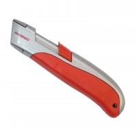 Cutter cu dubla securitate, autoretractabil, Kronus SX1200, 19 mm