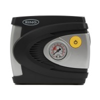 Compresor auto Ring RAC610, 12V 18-20 l/min 85W, negru + gri, 17 x 8.2 x 14.8 cm