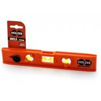 Nivela cu bula, Holzer 229, cu 3 indicatori, din plastic, 230 mm