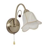 Aplica Giulia KL 7218, 1 x E14, bronz satin + alb