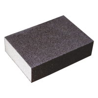 Burete abraziv pentru slefuire, Lumytools LT07912, 100 x 65 x 26 mm, granulatie 100