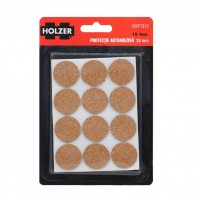 Protectie autoadeziva pentru pardoseala, Holzer EWFT315, forma rotunda, 25 mm, set 12 bucati