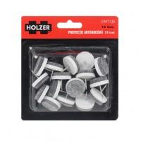 Protectie pentru pardoseala, Holzer EWFT130, forma rotunda, 24 mm, set 16 bucati