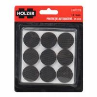 Protectie autoadeziva pentru pardoseala, Holzer EWFT278, forma rotunda, 25 mm, set 18 bucati