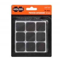 Protectie autoadeziva pentru pardoseala, Holzer EWFT281, forma patrata, 26 mm, set 18 bucati