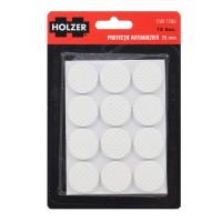 Protectie autoadeziva pentru pardoseala, Holzer EWFT286, forma rotunda, 25 mm, set 12 bucati