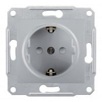 Priza simpla Schneider Electric SDN3000160, incastrata, contact de protectie