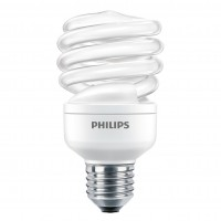 Bec economic Philips Economy Twister spiralat E27 20W 1218lm lumina calda 2700 K