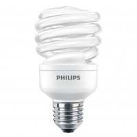 Bec economic Philips Economy Twister spiralat E27 15W 840lm lumina rece 6500 K