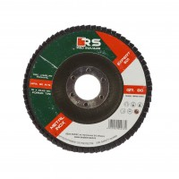 Disc lamelar frontal, pentru otel / inox, Red Square, 115 x 22 mm, granulatie 80