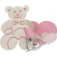 Aplica pentru copii Honey 3656, 1 x E14, roz + auriu