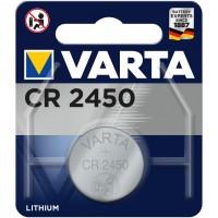 Baterie Varta Electronics CR2450, 3V, Lithium Button Cells
