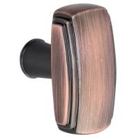 Buton pentru mobila, metalic, cupru antic, 40 x 22x 24 mm