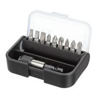 Biti pentru insurubare, Cobit, set 9 bucati + adaptor magnetic, 1/4