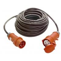 Prelungitor trifazat 6108 16A 11KW H05VvVF, 20 m, 3500W, 5 x 1.5 mmp