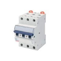 Intrerupator automat modular Gewiss  GW92170, 3P, 25A, curba C