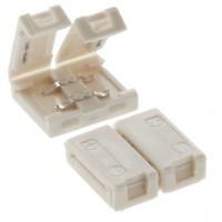 Element de conexiune liniara pentru banda LED cu 64 LED-uri / m, 8 mm, Arelux Xtape, set 5 buc